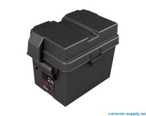 Bilde av  Batterikasse liten plast